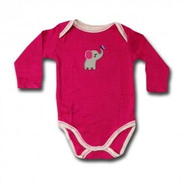 d8c97879622a Dumbo and his Butterfly Adam   Eve Baby Wear Tag Free Romper - Baby ...