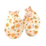 Peach Berries Baby Girls Mitten - Girls Clothes