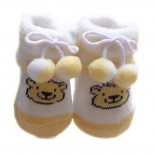Soft Baby Socks/Shoes - Caramel
