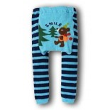 Stripe Me Blue Leggings/Tights- Babies Accessories