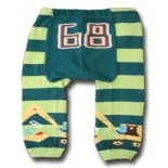 Green Stripes Leggings/Tights- Babies Accessories