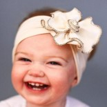 White Angel Head Band - Baby Girls Clothes