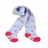 Baby Blue Floral Stockings/leggings - Baby Girls Clothes