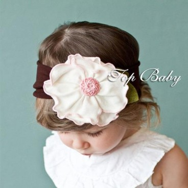 White with pink flower head band baby girls clothes adam eve white with pink flower head band baby girls clothes mightylinksfo