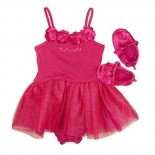 Red Tutu 3 Pieces Set - Baby Girls Clothes
