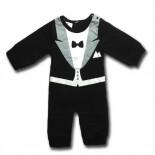 Best Man Tuxedo 1 Piece Onesie / Romper - Formal Wedding Attire