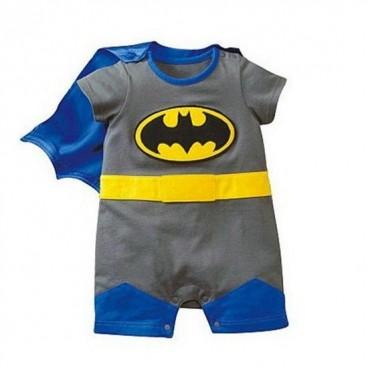 Batman 2 pcs outfit removable cape amp half legs baby boy clothes adam amp eve baby wear