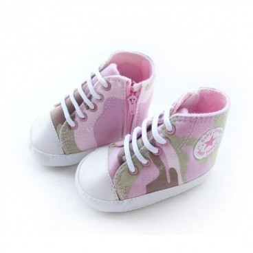Girls Army Print Highcuts Prewalkers Boots - Baby Girl Shoes - Adam ... 3f6c8d66c