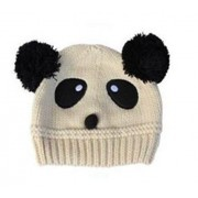 Beige Mousey on the Crawl knitted beanie / hats - Babies Accessories