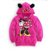 Mouse & Her Hood Pink Long Sleeve Jumper